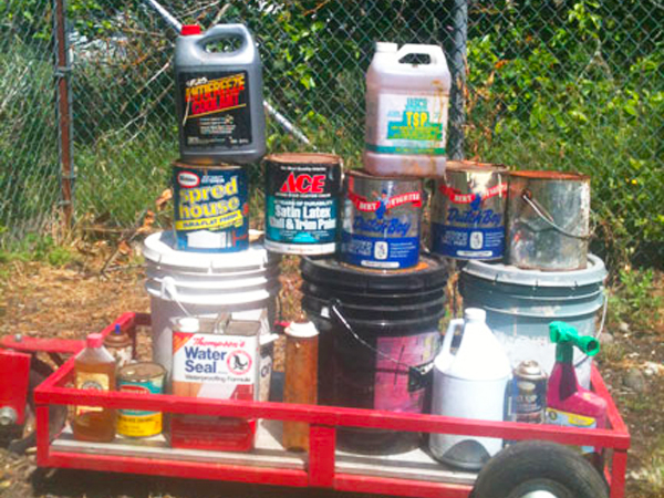 toxic paint materials